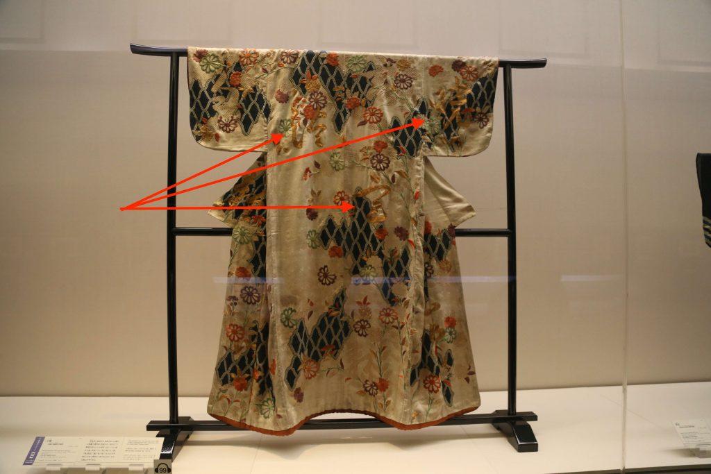 漢字の入った着物