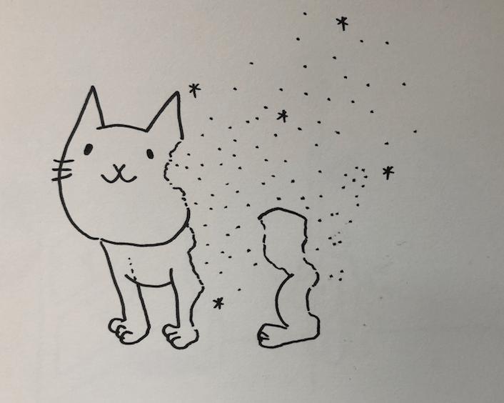 虹の橋 猫