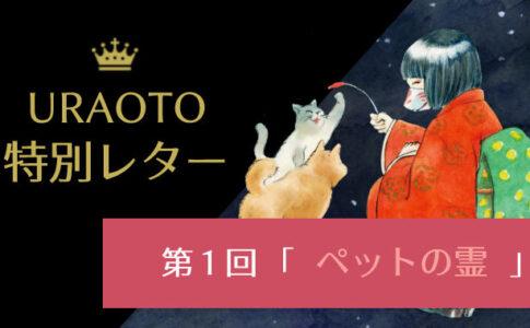 無料【URAOTO特別レター】第1回配信をご紹介!アンケート企画も回答中~!